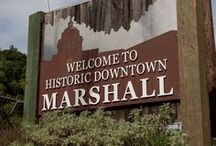 Local Area / Enjoy some images from the local town of Marshall, NC as well as some from Asheville, NC.