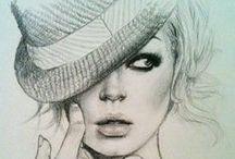 """The Art of Fashion Illustration"" / Art fashion designs..."