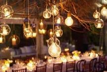 wedding decorations / colours and decorations