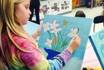 Pretty in Paint Kids! / Paint Club