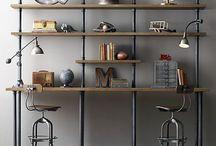 Steampunk shelves