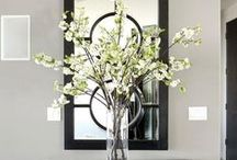Home decor ideas / Creative, beautiful and stylish decorating ideas.  Classic, modern and craft style.