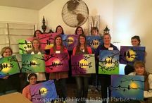 """""""The Art of Fundraising!"""" / The heart & soul of Pretty in Paint is giving back to many fundraisers nationwide. Just take a look at the many different organizations we have contributed to. How can we help your club or foundation?"""