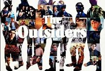 The Outsiders / Um........ I'm obsessed!!!!!! I need help but don't got none, my favorite is Sodapop (Rob Lowe) and I just wanna be with all of them, the rest of my life  it's also all of S.E. Hintons other books / by The Queen Ace McCormick