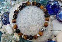 Handmade bracelets by AndyCollectionJewels / Stretchy, shambala, macrame bracelets for men and women