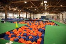 Our Facility / Shots from The Klub Gymnastics almost 40,000 sq. ft facility in Los Angeles, CA