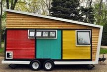 Modern Style Tiny Houses / Tiny homes and houses with a modern look/twist.