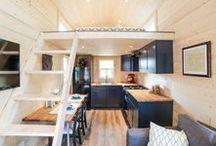 Tiny House Interiors / The inside of tiny homes.