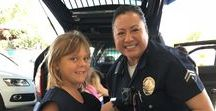 LAPD Kamp Visit / Thank you so much to the LAPD for visiting us at Summer Kamp!