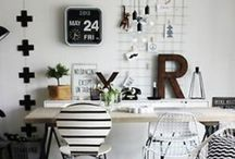 Office / Craft Room / by Stephanie Russell