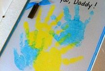 CRAFTS-----Finger, Hand, & Foot Print Art / by Mally Hatch