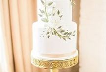 Wedding Cakes / How sweet it is! Wedding Cakes, Alternative Wedding Cakes, Naked Cakes and Groom's Cakes for your wedding day. From buttercream to fondant and cake stands to toppers- we've got it all.