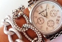Jewelry / Watches, bracelets, earrings, rings and other things that bling.