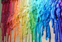 CRAFTS-----Crayola Art / by Mally Hatch