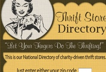 thrifty trendz / by Julie Goodall-Carire