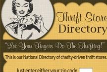 thrifty trendz / by Julie Goodall-Carire