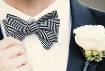 Groom & Groomsmen / Wedding attire for the groom and his groomsmen. Suits, tuxedos, ties, bow ties, cufflinks, boutonnieres and cummerbunds.