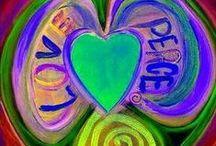 ☮ ღ Peace & Love ღ ☮ /   / by Merilee ♥•*¨*•.ღ¸