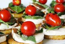 FOOD: Appetizers / Amuse-Bouche, Canapés, Crostini, Small Plates and mini dishes. Recipes & ideas we love to make
