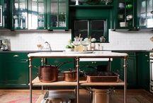 Kitchens / Kitchen ideas / by Lana Malinski Nebeker