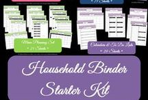 Printables & Household Binder / by Alison Huskey