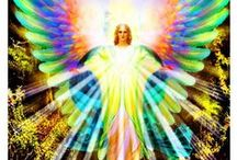 ∞☸∞ Ascended Masters & Angels / Pin as much as you'd like there are no rules on my boards.  I love Pinterest and I'm so thankful to all my fellow pinners who not only share their pins but follow me as well.  Enjoy!  :) / by ♥ Merilee ♥•*¨*•.ღ¸