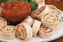 Wraps & Roll-Up Yummies / by Merilee Hughes