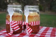 Food In a Jar Yummies / by Merilee Hughes