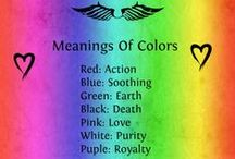∞☸∞ Spirituality Colors / by Merilee Hughes