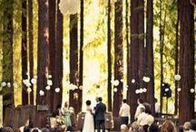 """WEDDING DECOR / When planning a wedding, deciding on the place where you will say """"I do"""" is definitely a big decision to make. Get inspired and stay true to who you are when choosing where you will spend the most beautiful day of your life.  / by Charlotte Hosten"""