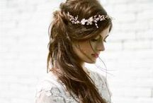 WEDDING HAIRSTYLES / Wedding hairstyle ideas for brides and bridesmaids  / by Charlotte Hosten