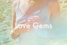 * love gems * / by Dogeared Jewelry
