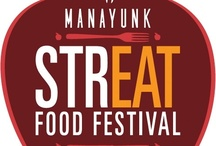 Fall Manayunk StrEAT Food Festival / The Manayunk StrEAT Food Festival (set for Saturday, September 21) brings more than 60 food vendors to Main Street in Manayunk.  The fall festival includes an apple theme that is included into small-portion dishes at all participating food vendors and Manayunk Restaurants.
