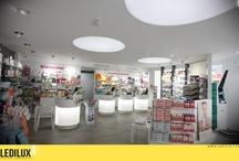 Farmacia Blanca 24 (elche) / by LEDILUX Iluminación