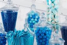 Azul/Blue (Wedding decor)