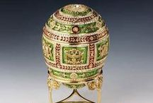 Royalty/Fabrege / Faberge made much more than the eggs. http://en.wikipedia.org/wiki/House_of_Faberg%C3%A9 / by Katheryn Koelker