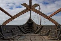 Viking ships and boats