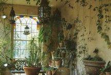 greenhouses,patios