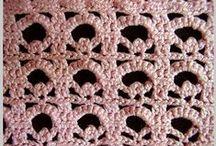 Crochê / Pontos (1) - Crochet Stitches/di Angela Espanhola