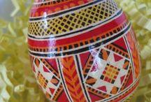 Arte ucraniano / Huevos de pascua