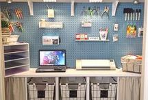 Craft Rooms & Supplies [Storage] / Ideas for storing craft supplies of all kinds.