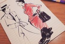 Suzillust / Fashion illust