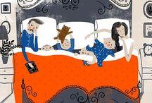 Badroom illustrations