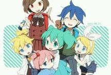 VoCaLoiD :D / Konnichiwa :D If you wanna join please comment on the pins below ;) feel free to add your friends too!