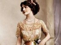 1840-1920 gowns / Edwardian & other styles