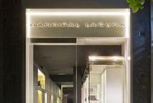 Tienda Hannibal Laguna / Así de bonita y especial es la tienda de Hannibal Laguna Shoes & Accessories. Visítala en Madrid, en la calle Claudio Coello, número 58.