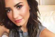 "D E M I  L O V A T O / Demetria Devonne ""Demi"" Lovato (August 20, 1992) is an American singer, songwriter, and actress. After making her debut as a child actress in Barney & Friends, Lovato rose to prominence in 2008 when she starred in the Disney Channel television film Camp Rock and released her debut single This Is Me which peaked at number nine on the Billboard Hot 100. The success of the film and its soundtrack resulted in a recording contract with Hollywood Records. Her debut album, Don't Forget (2008), debuted at number two on the US Billboard 200. The following year, Lovato was cast as the titular character of the television series Sonny with a Chance and she released her sophomore album, Here We Go Again, which became her first one to top the Billboard 200 chart."