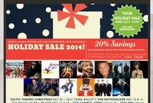 Performing Arts Holiday/Special Event Promotions