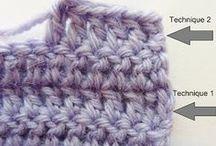 Crochet : trucs, astuces, points et cie