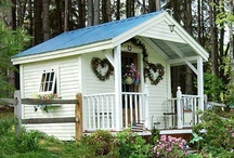 Shabby cottage / Looking for inspiration for my future 3x3 meters cottage.